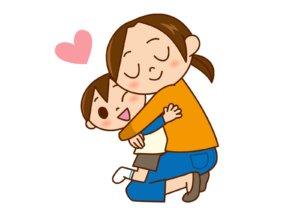 motherandboy-hug
